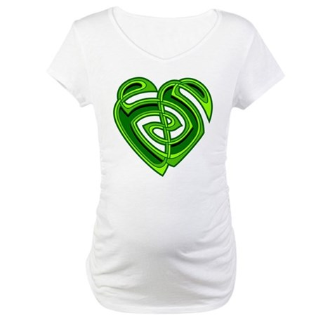 Wde Heartknot Maternity T-Shirt