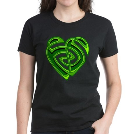 Wde Heartknot Women's Dark T-Shirt