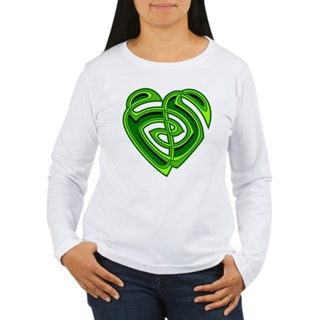 Wde Heartknot Women's Long Sleeve T-Shirt