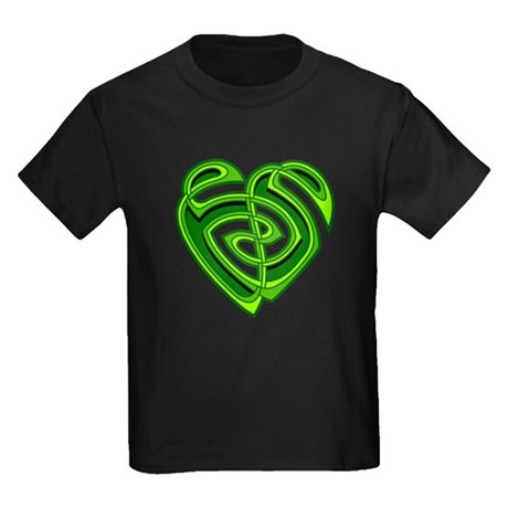 Wde Heartknot Kids Dark T-Shirt