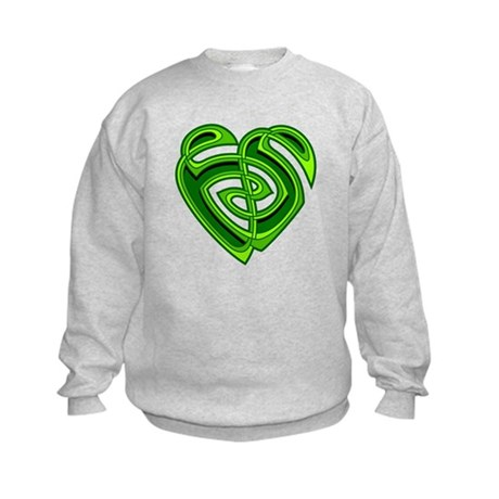 Wde Heartknot Kids Sweatshirt