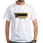 The New Yorkie Attitude White T-Shirt