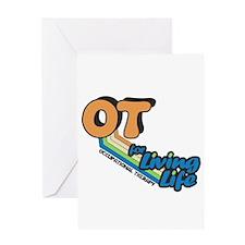 OT For Living Life Greeting Card