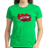 Heart & Rose - Boricua Tee