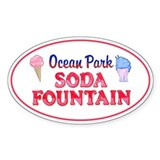 Ocean Park Soda Fountain Decal