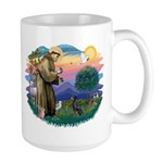 St Francis #2/ Manchester T Large Mug