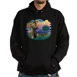 St Francis #2/ Manchester T Hoodie (dark)