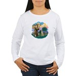 St Francis #2/ Sloughi Women's Long Sleeve T-Shirt