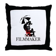 FILMMAKER Throw Pillow