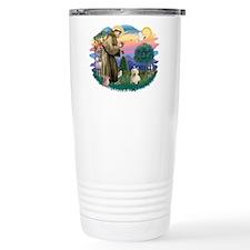 St Francis #2/ Westie #1 Travel Mug
