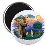 St Francis #2/ Boston T #1 Magnet