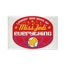Miss Jodi Rectangle Magnet