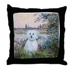 By the Seine/ Throw Pillow
