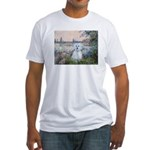 By the Seine/ Fitted T-Shirt