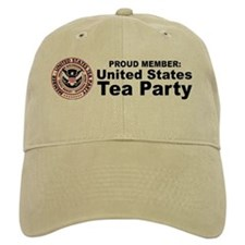 Tea Party Baseball Cap