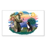 St Francis #2/ BMD Sticker (Rectangle 10 pk)