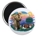 St Francis #2/ Cavaliers Magnet