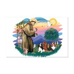 St Francis #2/ Cavaliers Mini Poster Print
