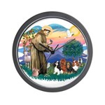 St Francis #2/ Cavaliers Wall Clock