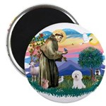 St Francis #2/ Bichon #1 2.25