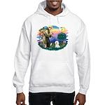 St Francis #2/ Bichon #1 Hooded Sweatshirt