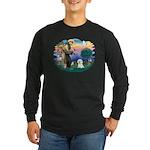 St Francis #2/ Bichon #1 Long Sleeve Dark T-Shirt