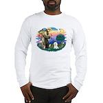 St Francis #2/ Bichon #1 Long Sleeve T-Shirt