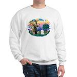 St Francis #2/ Bichon #1 Sweatshirt