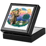 St Francis #2/ Cairn T (#14) Keepsake Box