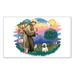 St Francis #2/ Cairn T (#14) Sticker (Rectangle)