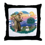 St Francis #2/ Cairn T (#14) Throw Pillow