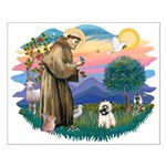 St Francis #2/ Cairn T (#14) Small Poster