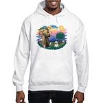 St Francis #2/ Cairn T (#14) Hooded Sweatshirt