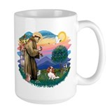 St Francis #2/ Cavalier (bl) Mug