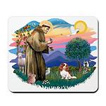 St Francis #2/ Cavalier (bl) Mousepad