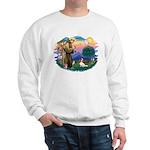 St Francis #2/ Cavalier (bl) Sweatshirt