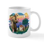 St Francis #2/ Chow (B) Mug