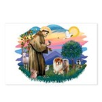 St Francis #2/ Chow (B) Postcards (Package of 8)