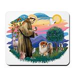 St Francis #2/ Chow (B) Mousepad