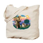 St Francis #2/ Chow (B) Tote Bag