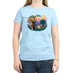 St Francis #2/ Chow (B) Women's Light T-Shirt