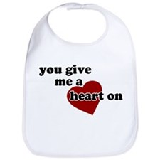 You give me a heart on Bib