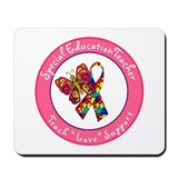 Cute Special ed teacher Mousepad