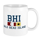 Bald Head Island NC - Nautical Design Mug