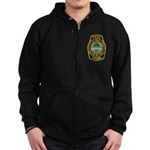 Colonial Heights Police Zip Hoodie (dark)