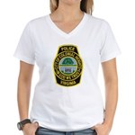 Colonial Heights Police Women's V-Neck T-Shirt