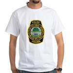 Colonial Heights Police White T-Shirt