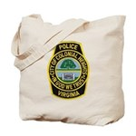 Colonial Heights Police Tote Bag