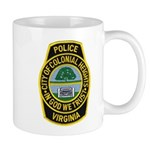 Colonial Heights Police Mug