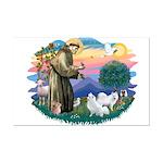 St Francis #2/ Am Eskimo (2) Mini Poster Print